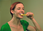 preventative teeth brushing