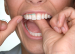 flossing is very important to your dental care